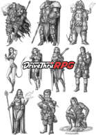 RPG characters: Pack30