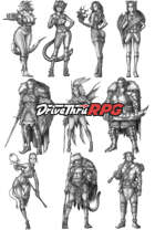 RPG characters: Pack31