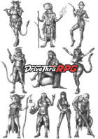 RPG characters: Pack32