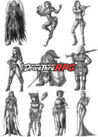 RPG characters: Pack33