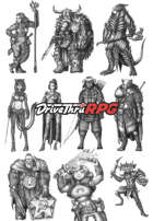 RPG characters: Pack35