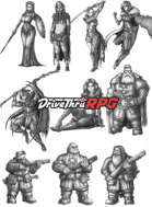 RPG characters: Pack39
