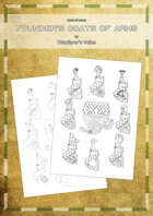 High quality and hand-drawn Coat of arms: Founder's coats of arms