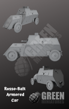 Russo-Balt Armored Car