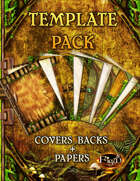 Template Pack #25 Enchanted Forest