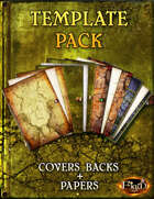 Template Pack -Damaged Land