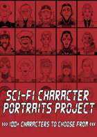 Sci-Fi Character Portraits Project