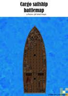 Cargo sailship battlemap