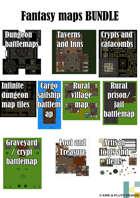 Fantasy maps [BUNDLE]