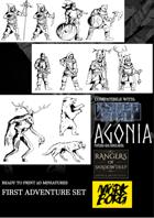 Classic Dark RPG TOKENS - First Adventure Set