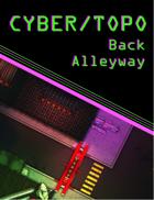 Cyberpunk Back Alleyway