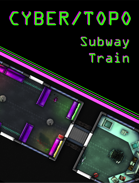Cyberpunk Subway Train