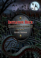 Countdown from 10 Deck (Gothic horror)