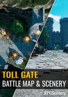 Toll Gate Battlemaps & Scenery