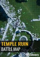 Temple Ruins Battlemaps
