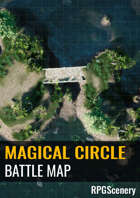 Magical Circle Battlemaps