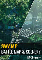 Swamp Battlemaps & Scenery