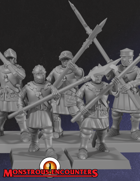 Breton Men-at-Arms Medium Armor Unit (STL)