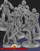 Imperial Arbiters Set 1 (STL)