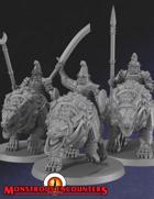 Hobgoblin Worg Cavalry (STL)