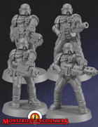 Imperial Arbiters SP Weapons (STL)