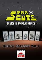 StarCuts: Mercs Gallery Vol. 1 (w/VTT assets)