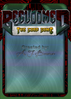 Begloomed, the Card Game