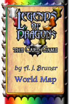Legends Of Dragons, the Card Game - World Map