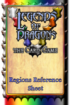 Legends Of Dragons, the Card Game - Regions Reference Sheet