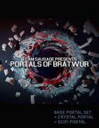 Portals of Bratwur - Base Portal Set incl. SciFi Portal