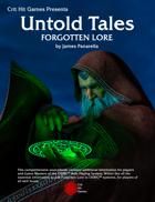 Forgotten Lore: An Untold Tales book