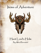 Items of Adventure - Hunt Lord's Helm