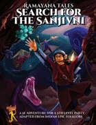 Ramayana Tales: Search for the Sanjivni