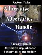 Alliterative Adversaries Bundle [BUNDLE]