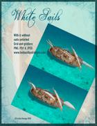 White Sails Sailboat Asset