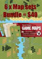 6 X Map Sets Bundle
