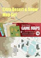 Extra Desert & Snow Map set (D5, D6, S5, S6, S5a)