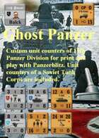 Custom Panzerblitz counters for 11th Panzer Divison