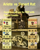 Custom Panzer Leader counters for Ariete division & British 7th Armoured division