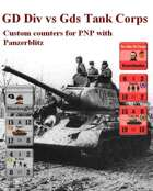 Custom PanzerBlitz counters for GD Panzer Grenadier & 5th Guards Tank Corps