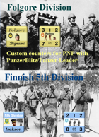 Custom PanzerBlitz/Panzer Leader counters for Finnish 5th Division & Italian Folgore Division