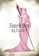Character Stock Art: Spring Elf Druid