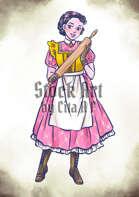 Character Stock Art: Baker Lady