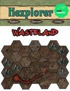 Hexplorer: Digital Hex Expansion - Wasteland Biome