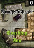 VTT & Print Battlemap - Coaching Inn Full Pack