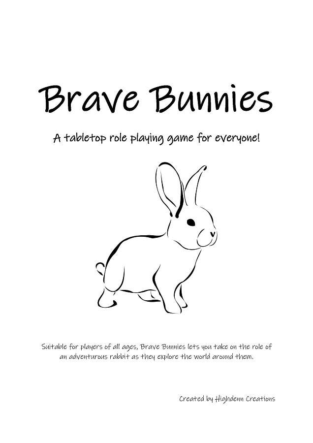 Brave Bunnies (A Cute TTRPG Game for Everyone)
