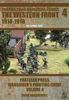 Partizan Press WW1 Painting Guide - The Western Front: The Germans