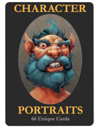 NPC Portrait Cards