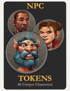 NPC Character Tokens