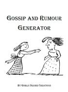 Gossip and Rumour Generator